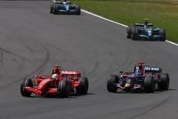 Felipe Massa, Scuderia Ferrari, Vitantonio Liuzzi, Scuderia Toro Rosso