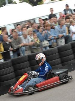 Go-kart event: Marco Melandri