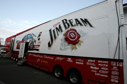 Jim Beam Racing Transporter