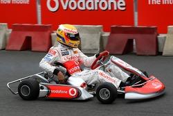 Lewis Hamilton, McLaren Mercedes, Vodafone Karting Event