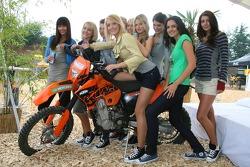 Formula Una's with a KTM Motorcycle