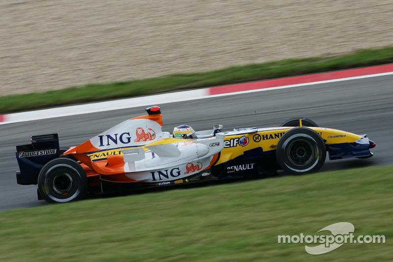 #3: Джанкарло Фізікелла, Renault F1 Team, R27