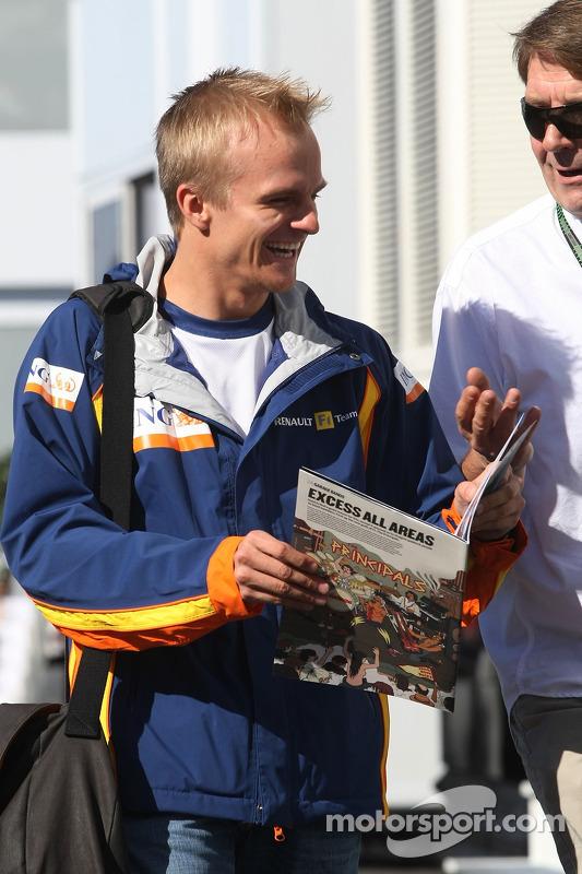 Хейккі Ковалайнен, Renault F1 Team