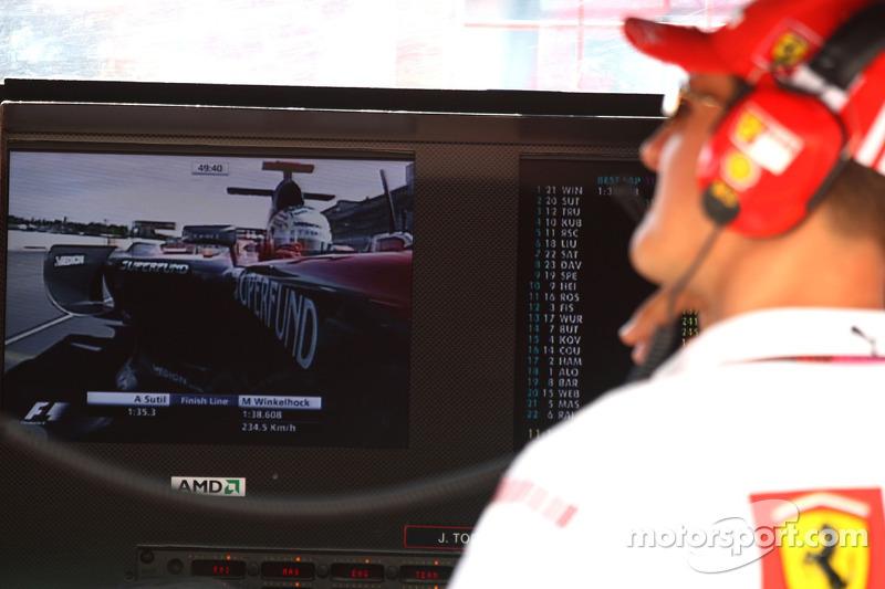Міхаель Шумахер, Маркус Вінкельхок, Spyker F1 Team