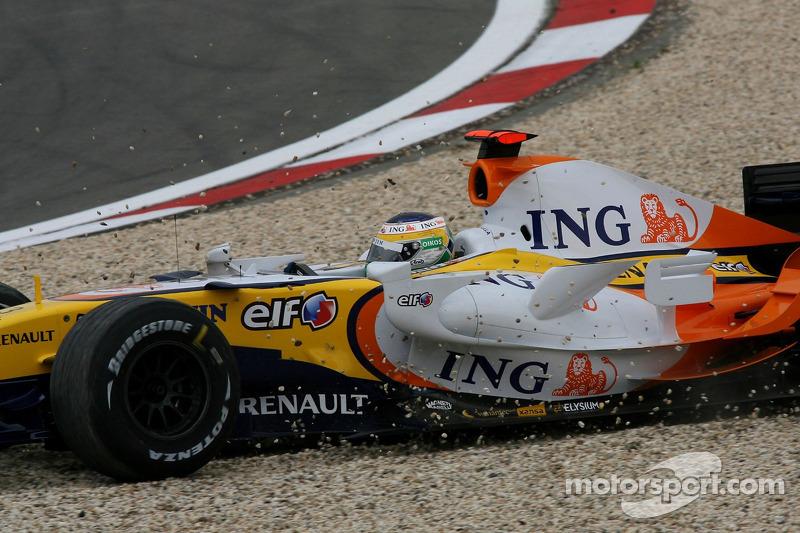 Джанкарло Фізікелло, Renault F1 Team, R27
