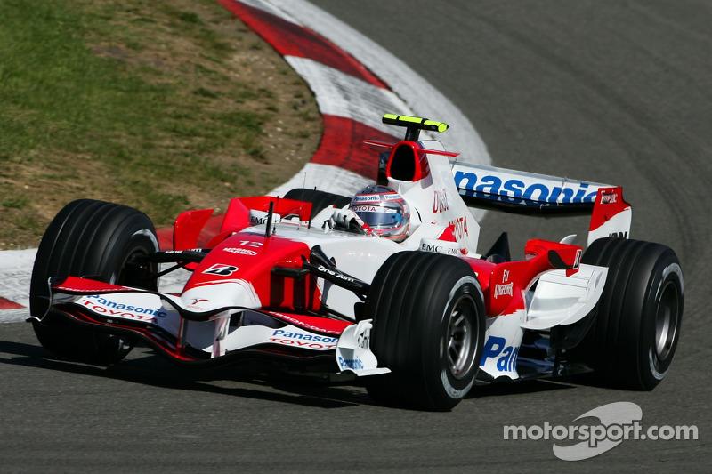 Ярно Труллі, Toyota Racing, TF107