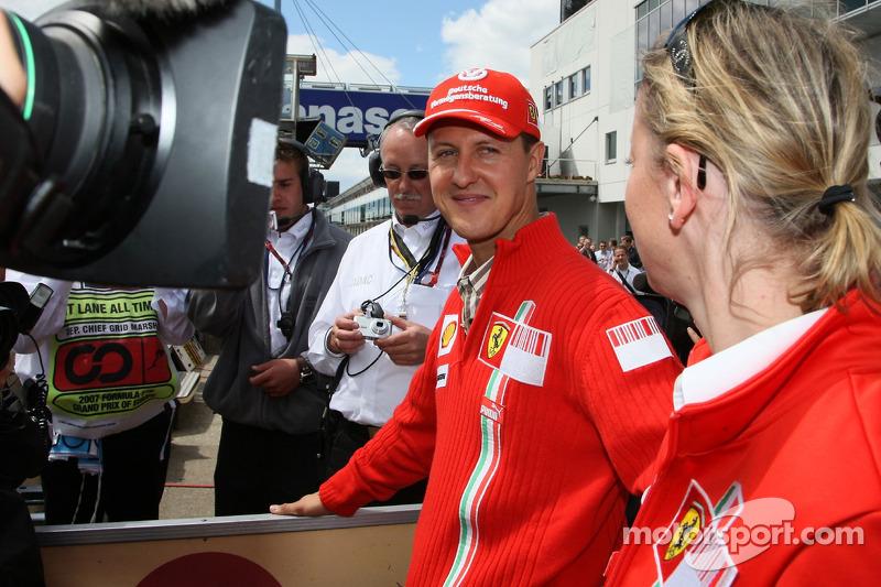 Міхаель Шумахер, Scuderia Ferrari, Сабіне Кем