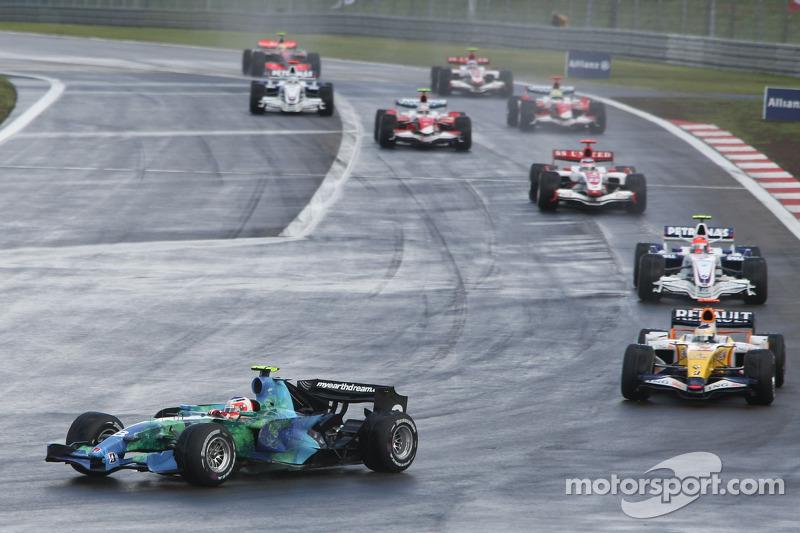Рубенс Баррікелло, Honda Racing F1 Team, RA107, Джанкарло Фізікелла, Renault F1 Team, R27