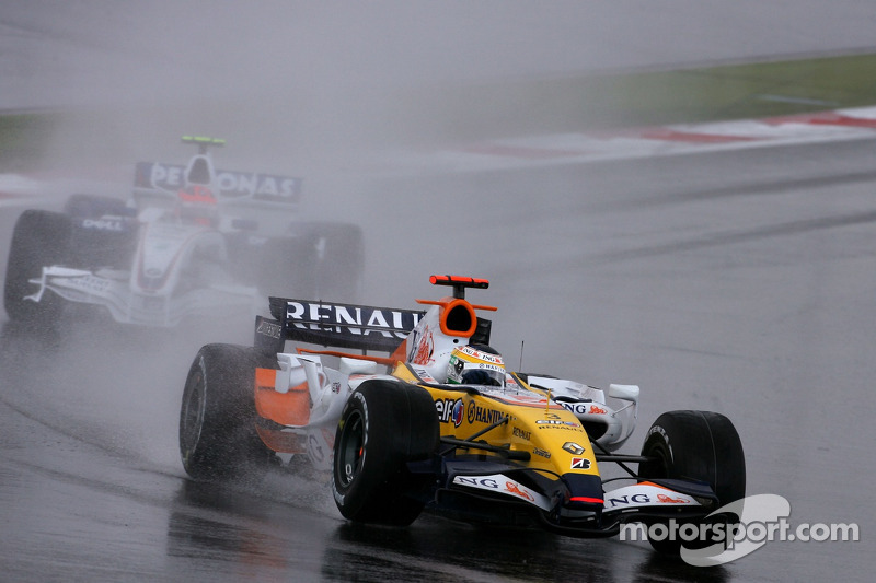 Джанкардо Фізікелла, Renault F1 Team, Роберт Кубіца, BMW Sauber F1 Team