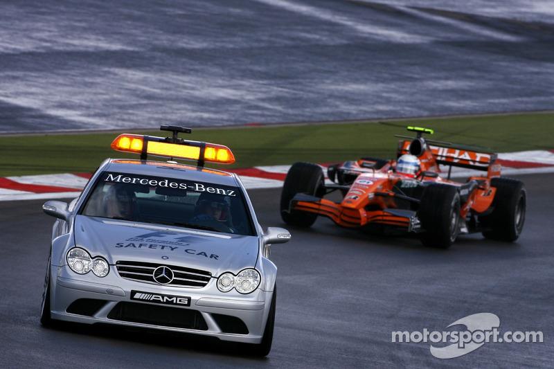Автомобіль безпеки, Маркус Вінкельхок, Spyker F1 Team
