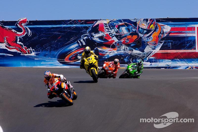 2007: GP de Estados Unidos, MotoGP