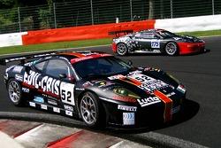 #52 Racing Team Edil Cris Ferrari 430 GT2: Paolo Ruberti, Damien Pasini, Matteo Cressoni, Lorenzo Case, #175 Sport Garage Ferrari 430 GT3: Romain Brandela, Sebastian Carcone, Christian Beroujon, Thierry Stepec