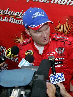 Pole winner Dale Earnhardt Jr.