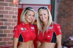 Xerox Ducati girls