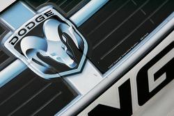 Detail of the Valvoline Dodge