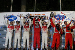 The podium: LM P1
