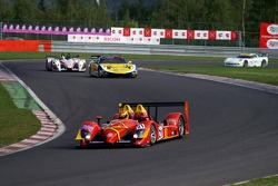 """The esses at """"Les Combes"""": #21 Bruichladdich Radical SR9-AER: Tim Greaves, Stuart Moseley"""