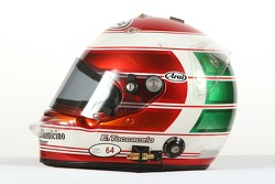 Enrico Toccacelo, driver of A1 Team Italy, helmet