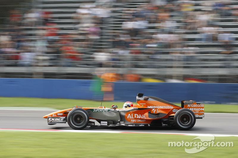 Sakon Yamamoto, Spyker F1 Team, F8-VII