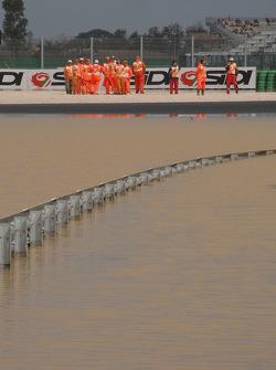 Major flooding around Misano