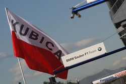 Robert Kubica,  BMW Sauber F1 Team flag