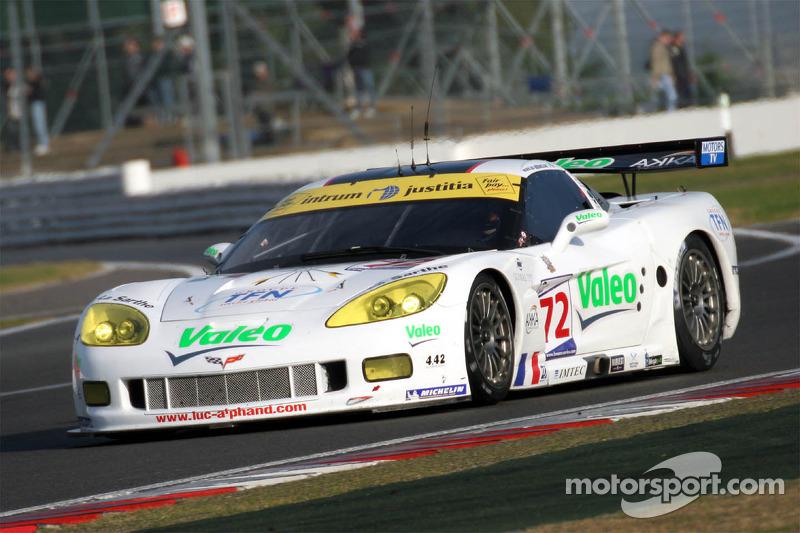 #72 Luc Alphand Aventures Corvette C6-R: Oliver Gavin, Patrice Goueslard, Jérôme Policand