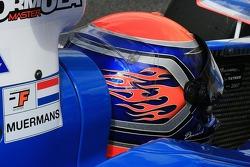 Dominick Muermans' helmet
