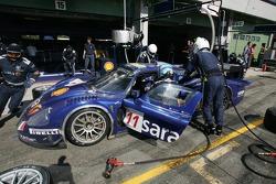 Pitstop for #11 Scuderia Playteam Sarafree Maserati MC 12: Andrea Bertolini, Andrea Piccini