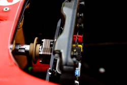 Scuderia Ferrari, F2007, Steering wheel detail