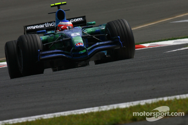 #8: Rubens Barrichello, Honda Racing F1 Team, RA107