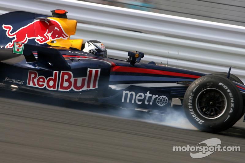 Red Bull 2007: David Coulthard, Red Bull RB3