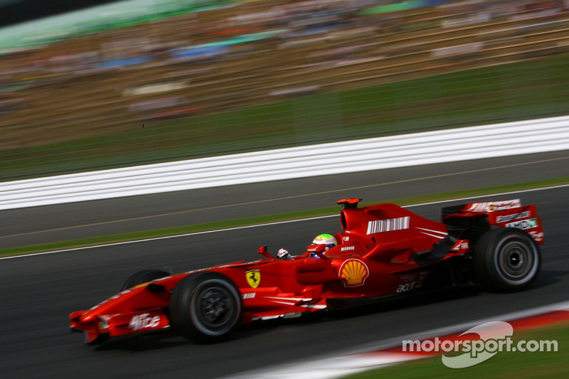 #5: Felipe Massa, Scuderia Ferrari, F2007