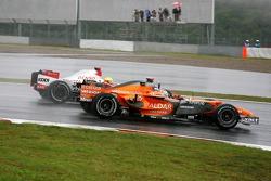 Adrian Sutil, Spyker F1 Team, Ralf Schumacher, Toyota Racing