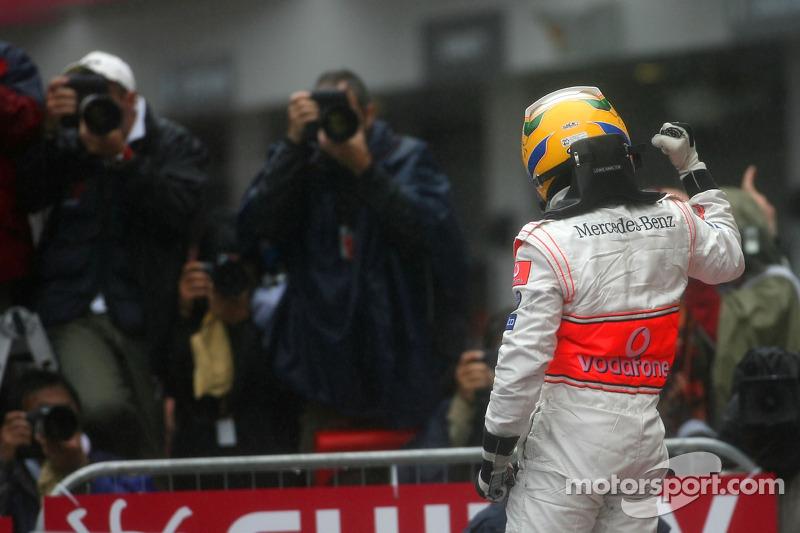 2007 (en Fuji): Lewis Hamilton, (McLaren-Mercedes MP4-22)