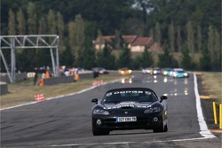 Dodge Viper pace car lead the field on pace lap