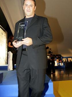 Paulo Coloni FMS International Team Principal with his award