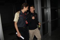 Sebastian Vettel, Scuderia Toro Rosso before his meeting with the stewards