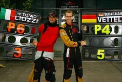 Себастьян Феттель и Витантонио Льюцци, Scuderia Toro Rosso