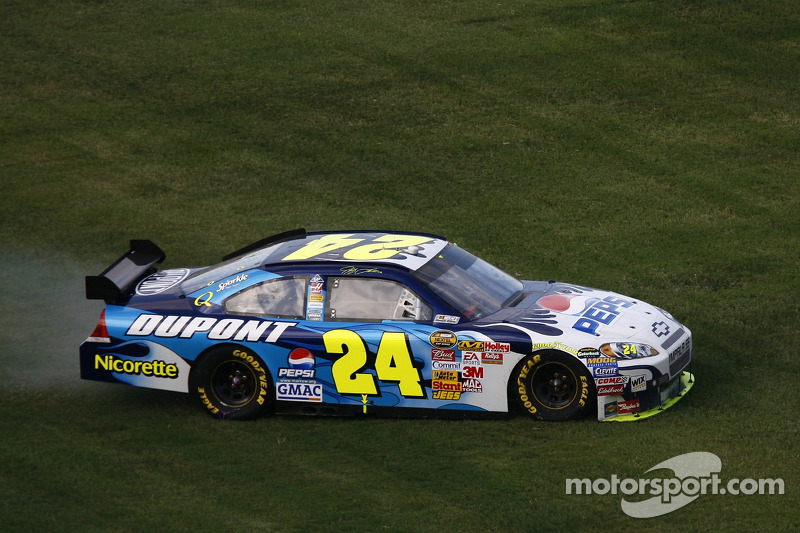 Jeff Gordon und das Fan-Design