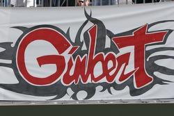 Support for Sébastien Gimbert