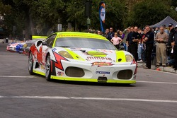 #31 Petersen White Lightning Ferrari 430 GT: Michael Petersen, Peter Dumbreck