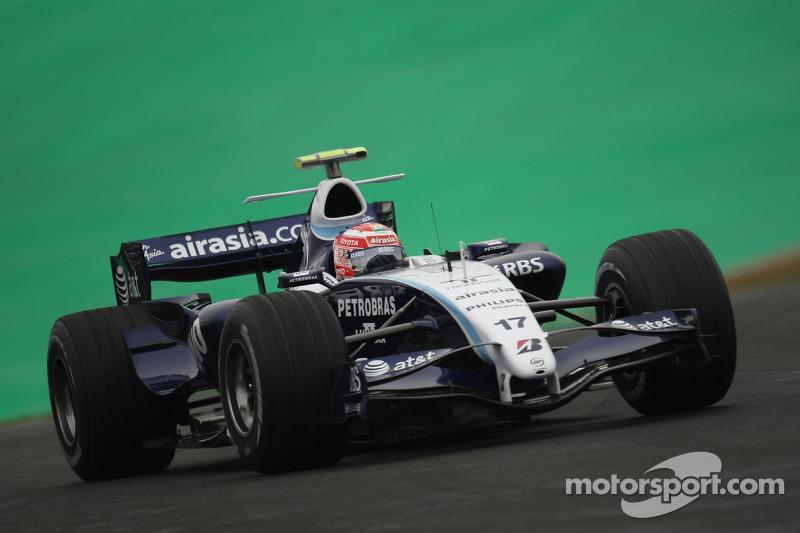 #17 : Kazuki Nakajima, Williams FW29
