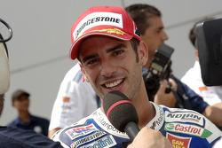 Marco Melandri third in qualifying