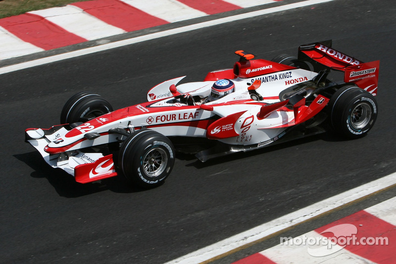 #22: Такума Сато, Super Aguri F1, SA07