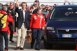 Luca di Montezemolo and Jean Todt