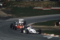 Keke Rosberg, René Arnoux, Danny Sullivan y Alan Jones