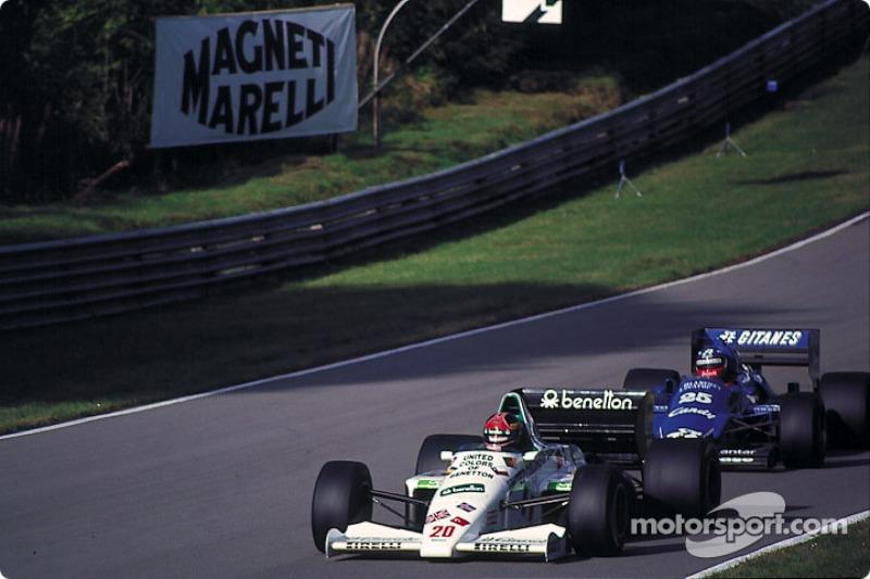 Philipp Streiff, GP da Austrália 1985 / Posição: 3º