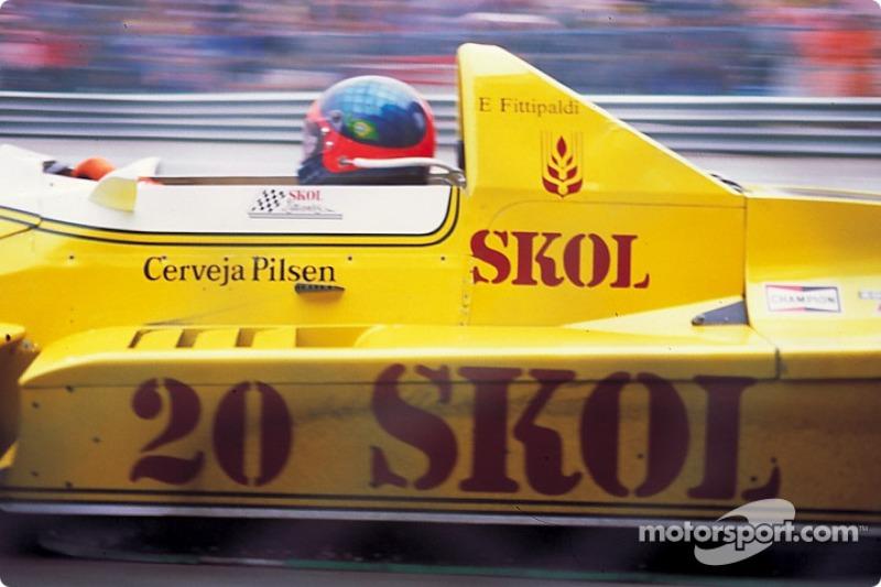 1976: Эмерсон Фиттипальди (из McLaren в Fittipaldi)