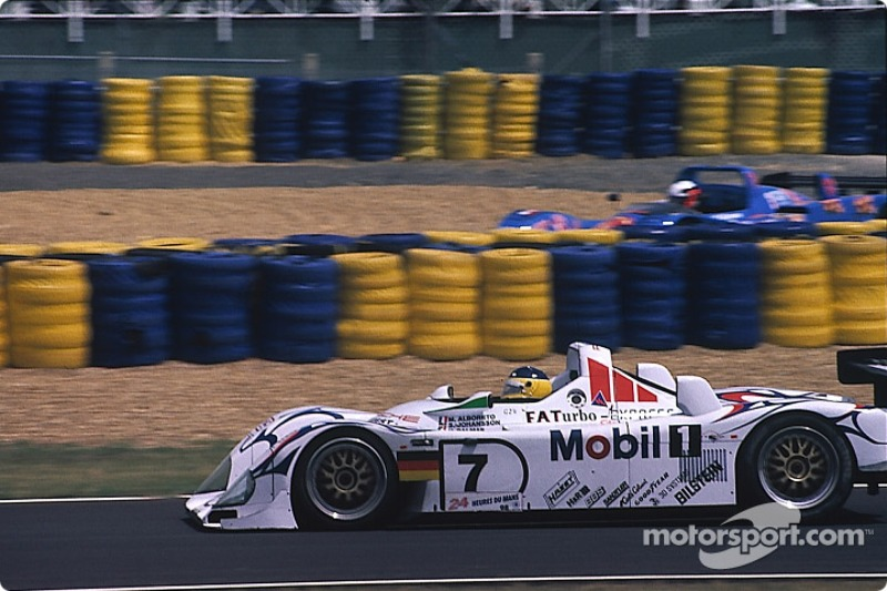 #7 Porsche AG Porsche LMP1/98: Мікеле Альборето, Стефан Йоханссон, Яннік Дальма