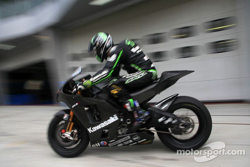 Anthony West, Kawasaki Racing Team at Sepang November testing